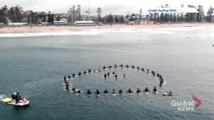 New Zealand shooting: Surfers 'paddle out' tribute for victims of Christchurch attack